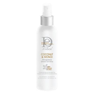 Design Essentials Natural Coconut & Monoi Weightless Shine Oil Mist - 4 oz