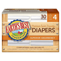 Earths Best Earth's Best Tender Care Diapers - Size 4 (120 Count)