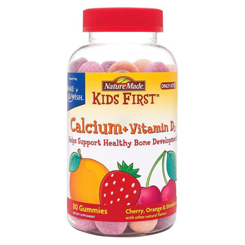 Nature Made Kid's First Calcium Gummy - 80 Count