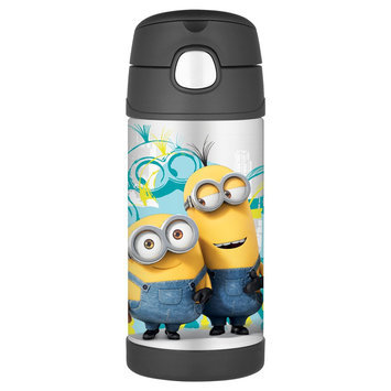 Thermos - Minions FunTainer Steel Straw Bottle