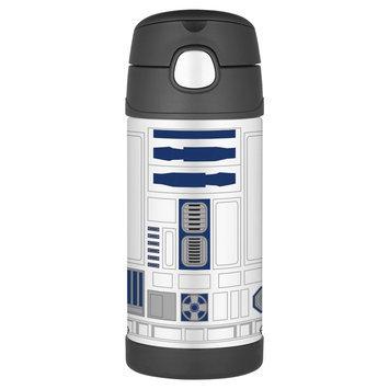 Rgc Redmond Thermos - Star Wars R2D2 FunTainer Steel Straw Bottle