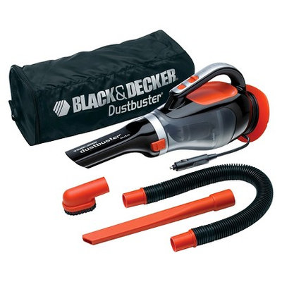 Black & Decker BLACK+DECKER 12V Dustbuster Auto Hand Vac, BDH1220AV