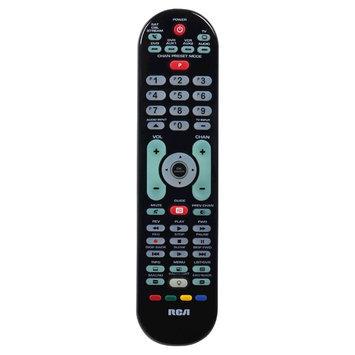 RCA Advanced Universal Large Button Remote Control - Black (RCRPS06GR)