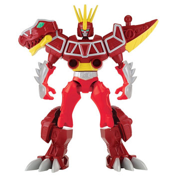 Power Rangers - Mixx N Morph Dino Charge Red Ranger and Dino Charge Megazord