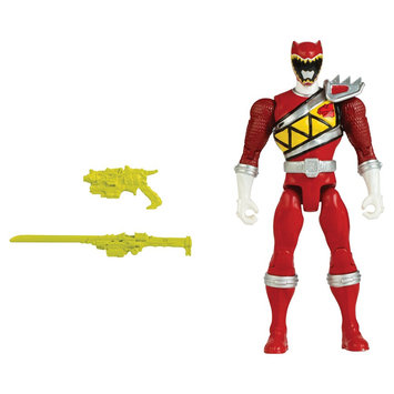 Power Rangers Dino Charge 5 Inch Figures Red Ranger Action Hero