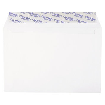 Columbian Envelopes Co330 Columbian Grip-seal Co330 Booklet Envelope - 6 X 9 - 24lb - Gummed - Wove - 250 / Box - White