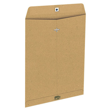 Earthwise Ampad 100% Recycled Paper Envelope, Side Seam, 10x13, Natural Brown, 110/Box
