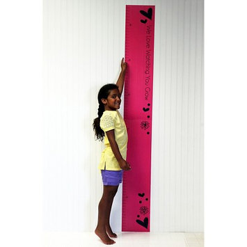 One Grace Place 10-26046 Sassy Shaylee Growth Chart Decal