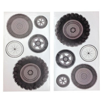 One Grace Place Teyo's Tires Wall Decals