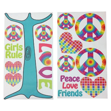 One Grace Place - Terrific Tie Dye Wall Decals