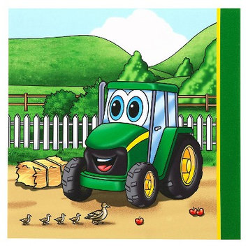 Party Destination Johnny Tractor Lunch Napkins