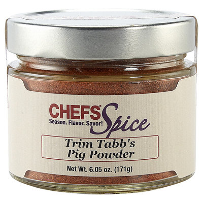 Chefs Pig Powder Pork Spice Blend and Dry Rub Large Jar (6.05 oz)
