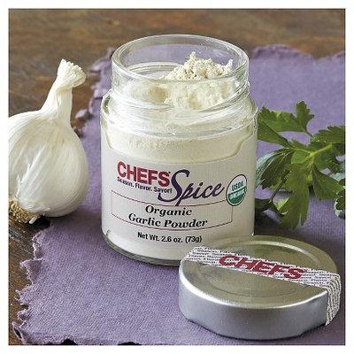 CHEFS Organic Garlic Powder, 2.6-ounce - 2.6-oz. - CHEFS Spice Organic