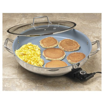 CHEFS Ceramic Nonstick Electric Skillet, 16-inch - 16?