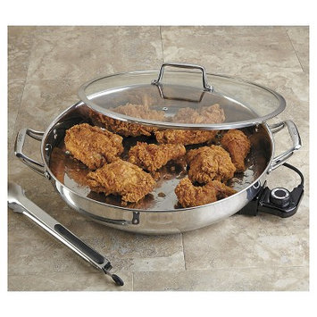 CHEFS Stainless-Steel Electric Skillet, 16-inch - 16?