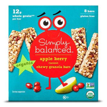 6.8 Ounce Simply Balanced Apple Granola Bars