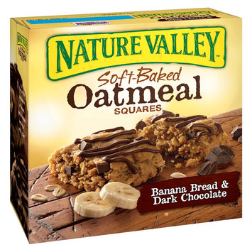 Nature Valley™ Soft Baked Squares Oatmeal Banana Bread & Dark Chocolate