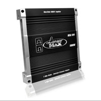 Lanzar New LANZAR MXA104 1600W MONO Car Amplifier Audio Power Stereo MOSFET Amp Black