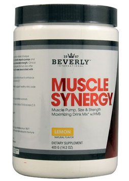 Beverly International Muscle Synergy Lemon 14.2 oz