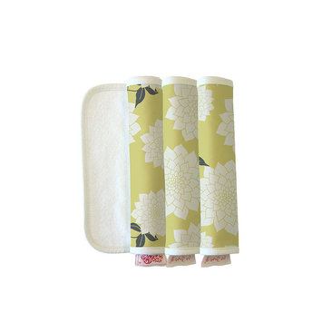 The Peanut Shell 3-pk. Burp Cloths (Stella)