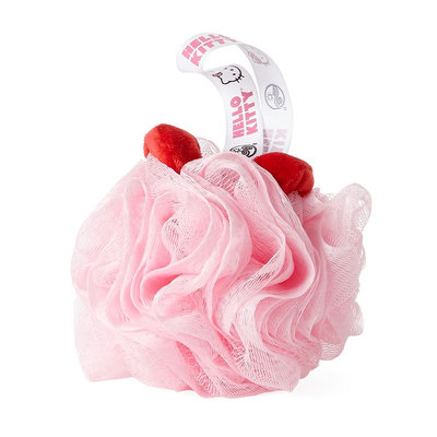 Earth Therapeutics Hello Kitty Loofah Sponge (Pink)
