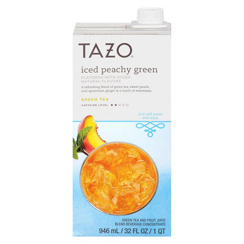 Tazo Iced Peachy Green