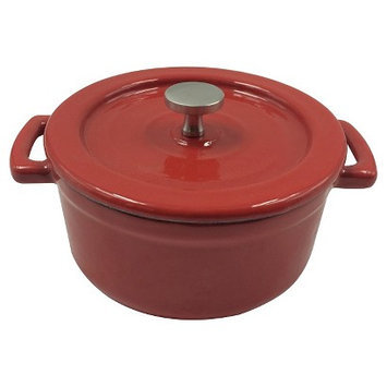 Threshold Cast Iron Dutch Oven - Red (.25 qt)