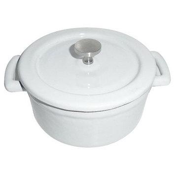 Threshold Cast Iron Dutch Oven - White (.25 qt)