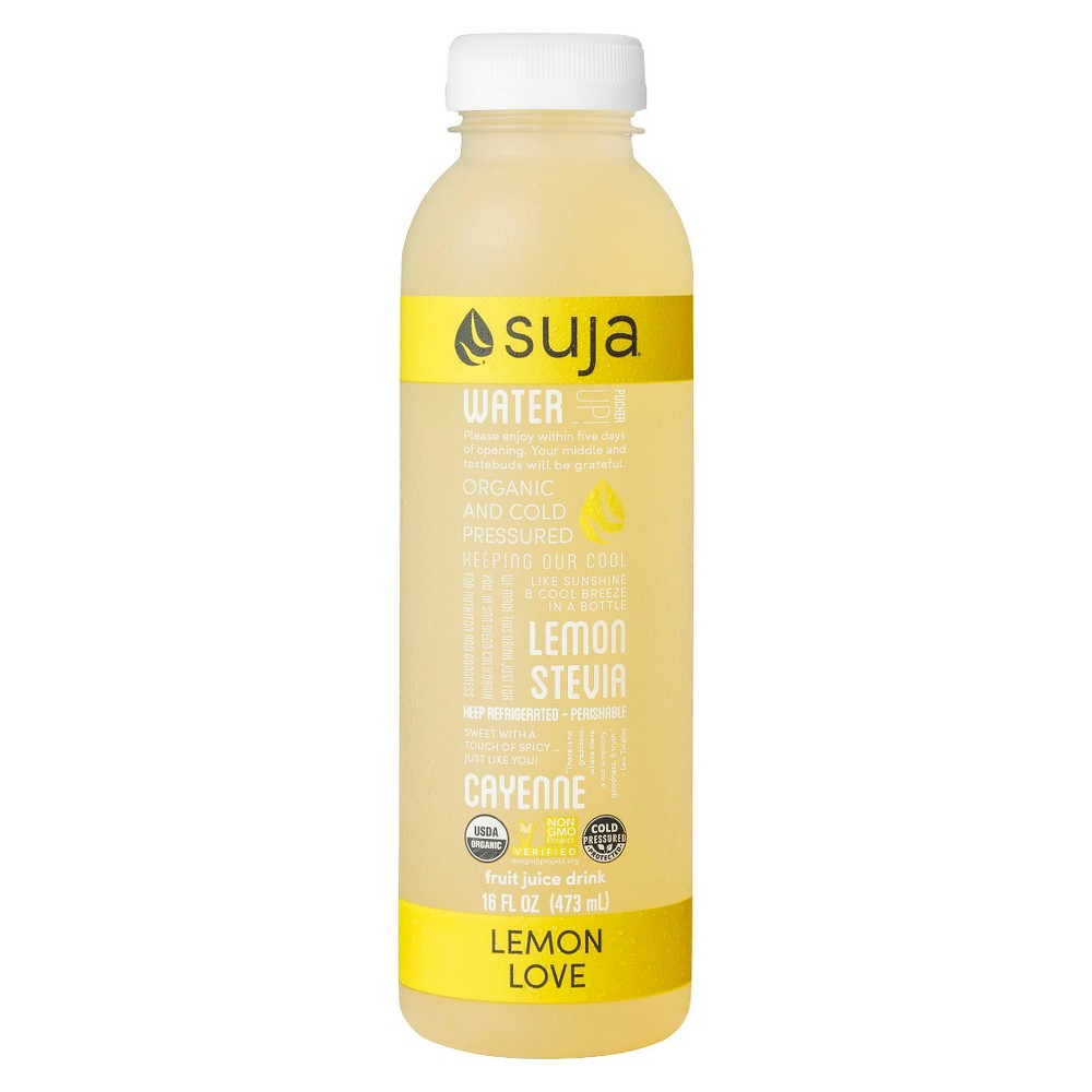 Suja Classic Organic Lemon Love Juice 16 oz