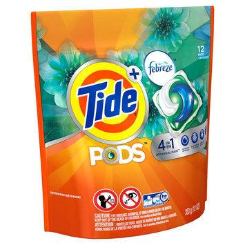 Tide Pods Botanical Rain Scent with Febreze Laundry Detergent Pacs 12 ct