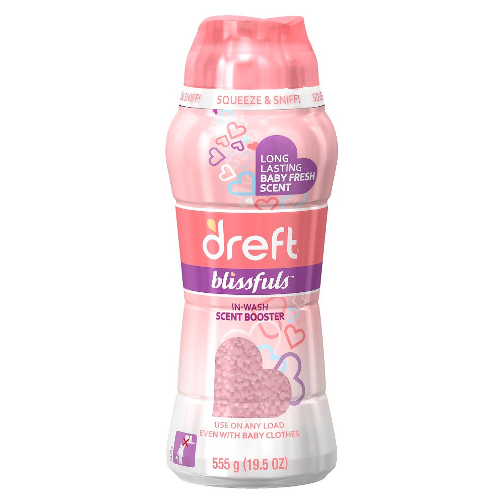 Dreft Blissful In-Wash Scent Booster: 19.5 oz