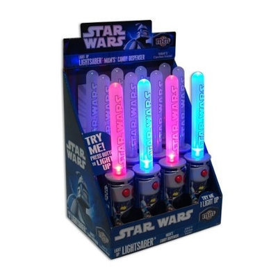 Candyrific Candy Rific M&M Star Wars Light Up Lightsaber
