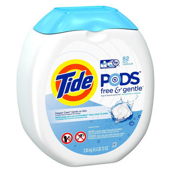 Tide Pods Free & Gentle Laundry Detergent Pacs