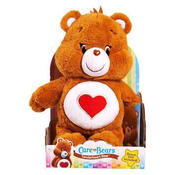 Just Play Care Bear Medium Plush with DVD Tenderheart