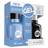 Coty Sally Hansen 1floz Miracle Gel Duo Nail Color 100/210 Pretty Piggy