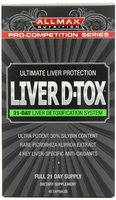 ALLMAX Nutrition Liver D-Tox 42 Capsules