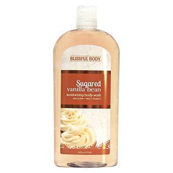 The Village Company Blissful Body Sugared Vanilla Bean Moisturizing Body Wash - 16 oz