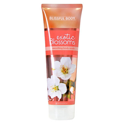 The Village Company Blissful Body Exotic Blossoms Smoothing Body Scrub - 8 oz