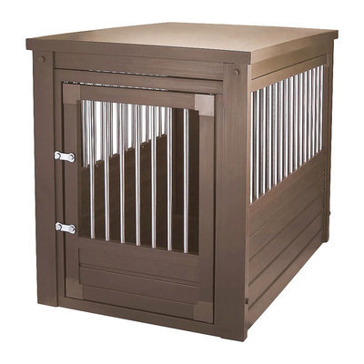 New Age Pet ecoFLEX InnPlace Pet Crate - Large (Brown)