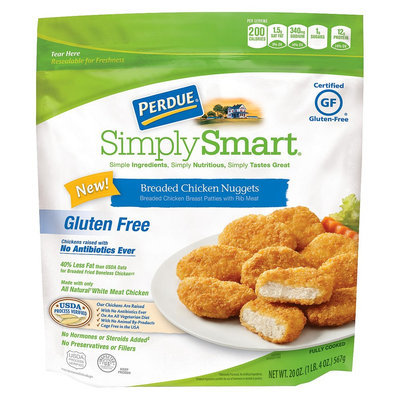 Perdue Simply Smart Gluten Free Breaded Chicken Nuggets 20oz.