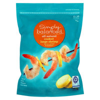 Market Pantry Simply Balanced 41/50 Cooked Tail-on Shrimp 16oz.