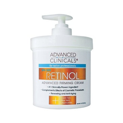 Concept Laboratories Advanced Clinics Spa Size Retinol Advanced Firming Cream 16oz
