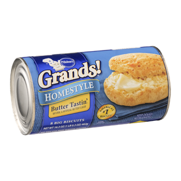 Pillsbury Grands! Homestyle Butter Tastin' Big Biscuits - 8 CT