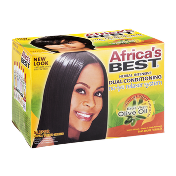 Africa's Best Dual Conditioning No-Lye Relaxer System Super