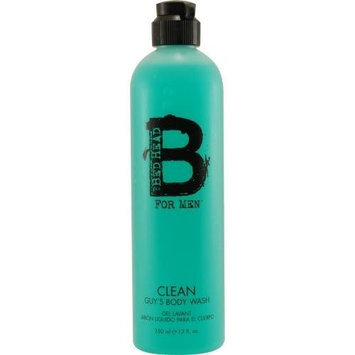 TIGI Bed Head for Men Clean Guy's Body Wash, 12 Ounce (Pack of 2)