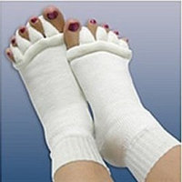 Dr. Leonard's Foot Alignment Socks, Size SMD