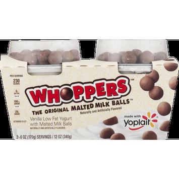 Yoplait® Vanilla Low Fat Yogurt With Whoppers Malted Milk Balls