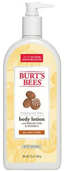 Burt's Bees Shea Butter & Vitamin E Body Lotion