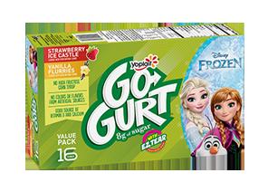 GO-GURT® Strawberry Ice Castle Vanilla Flurries Yogurt Variety Pack
