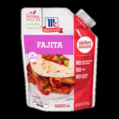 McCormick® Fajita Skillet Sauce
